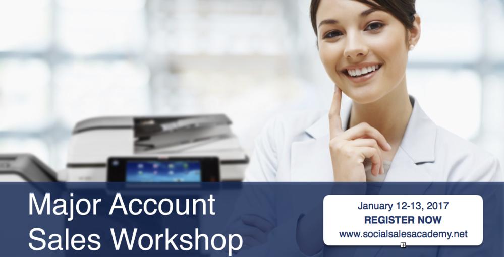 Major Account Workshop