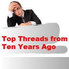 Top threads ten years