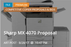 Sharp MX 4070 p4p