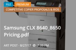 Samsung CLX8640