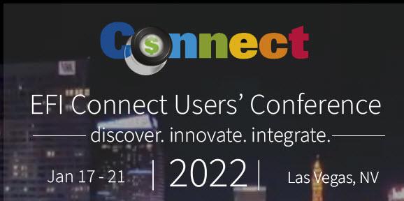EFI Connect, Jan. 17-21, 2022, Las Vegas