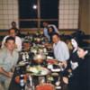 Ricoh Dinner in Sendai Japan 2002