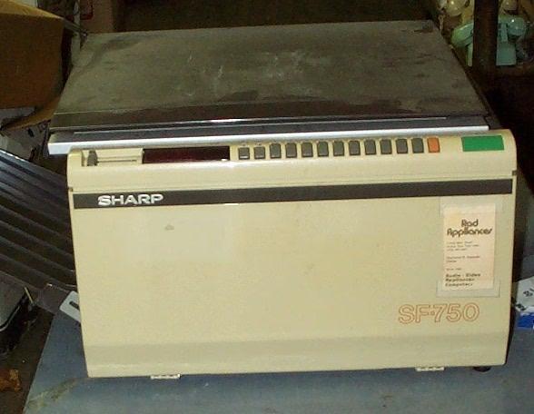 sharpsf750