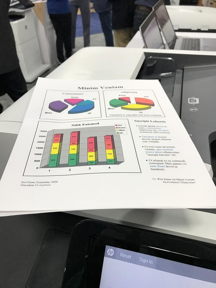 HP PageWide Quality Mode Print