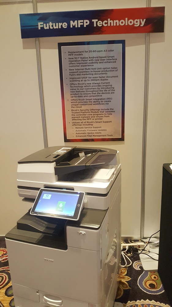 Future Ricoh MFP Technology