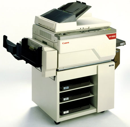 Canon analog copiers old