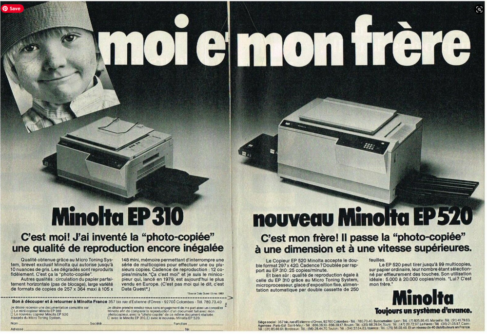 Minolta EP 310_Minolta EP520